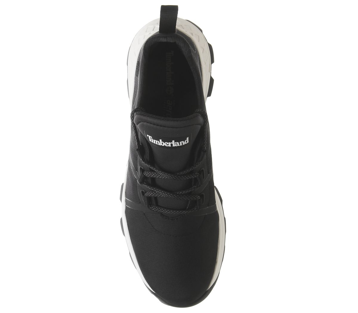 Timberland-Brooklyn-pour-homme-Tissu-Oxford-formateurs-Jet-Black-Casual-Shoes miniature 10