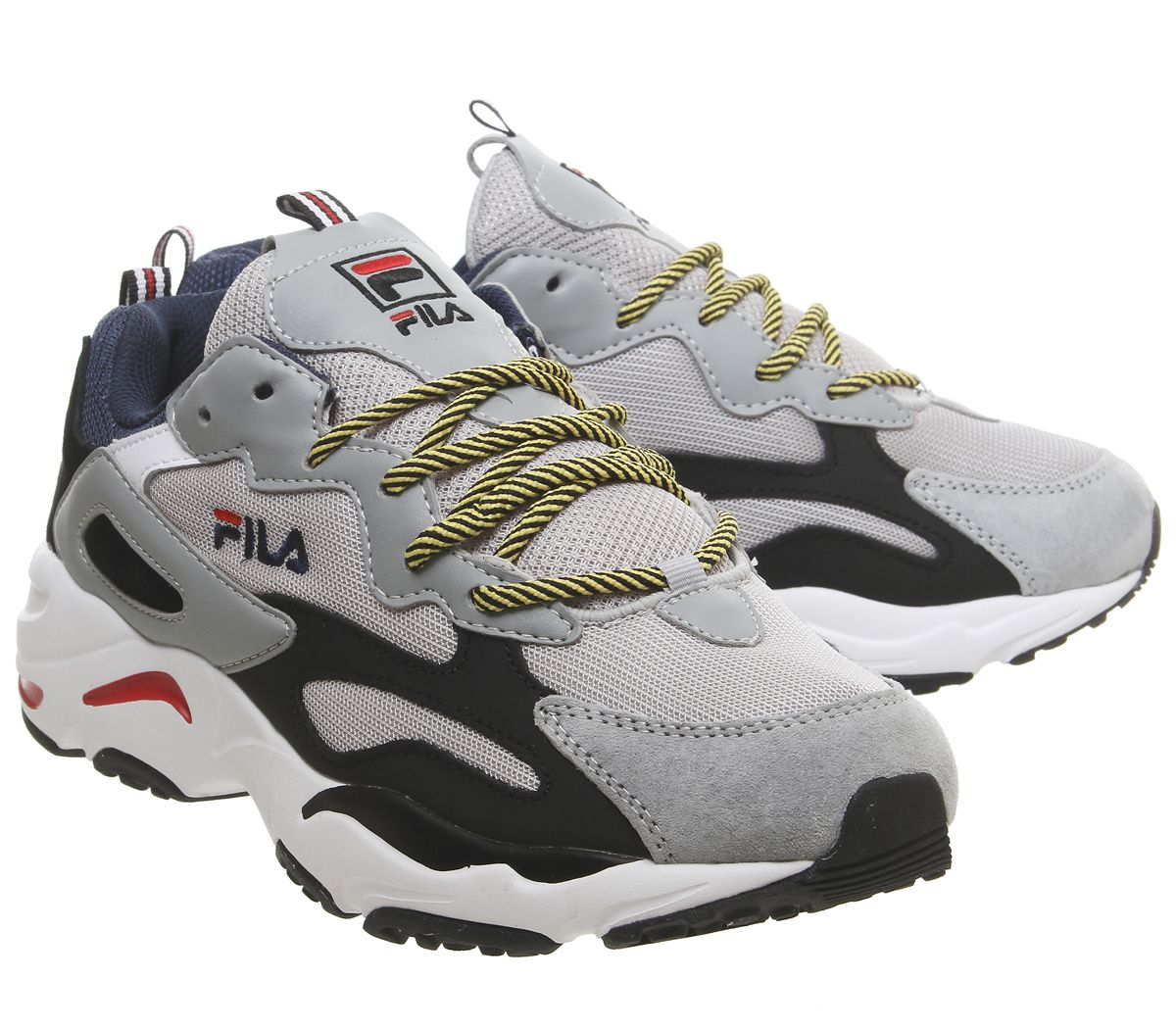 Details about FILA Ray Tracer Sports Shoes Vapor Blue Highrise Black  Sneakers- show original title