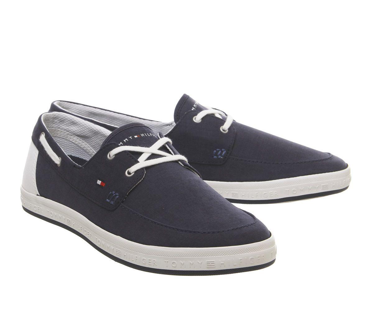 Homme-Tommy-Hilfiger-Howell-Baskets-Minuit-Chaussures-De-Loisirs miniature 6