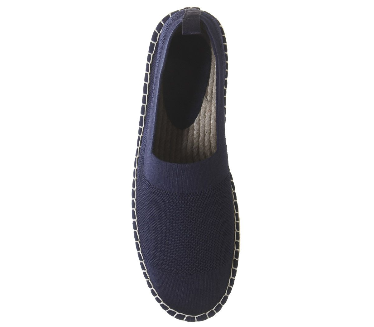 Mens-Office-Lombok-Knit-Espadrilles-Navy-Casual-Shoes thumbnail 5