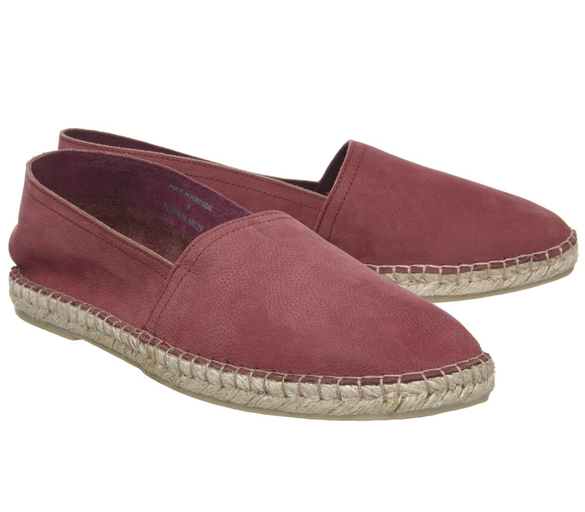Mens-Office-Luca-Espadrilles-Terracotta-Nubuck-Casual-Shoes thumbnail 5