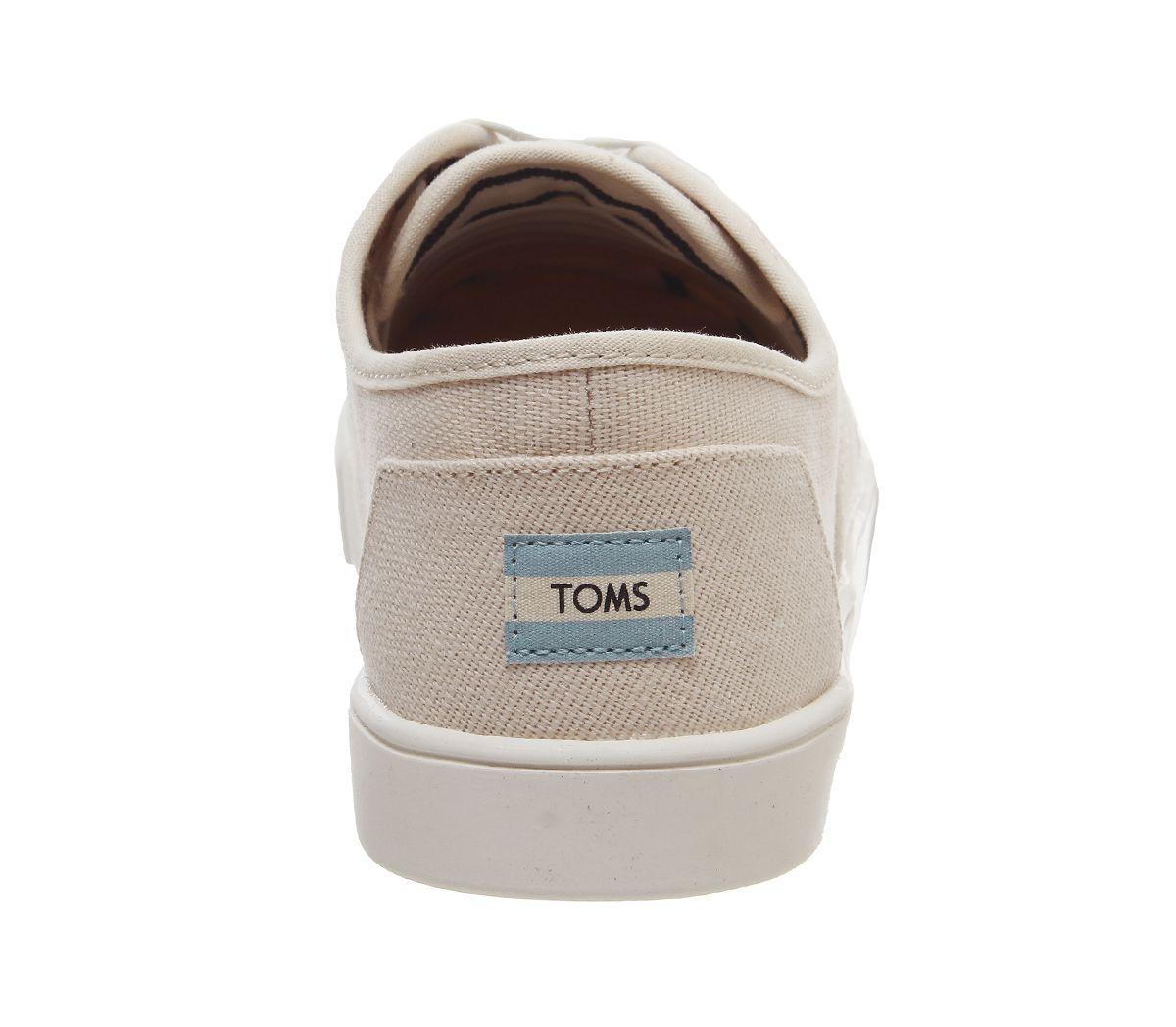 Da-Uomo-Toms-Cordones-Scarpe-da-ginnastica-Naturale-Scarpe-Casual miniatura 4