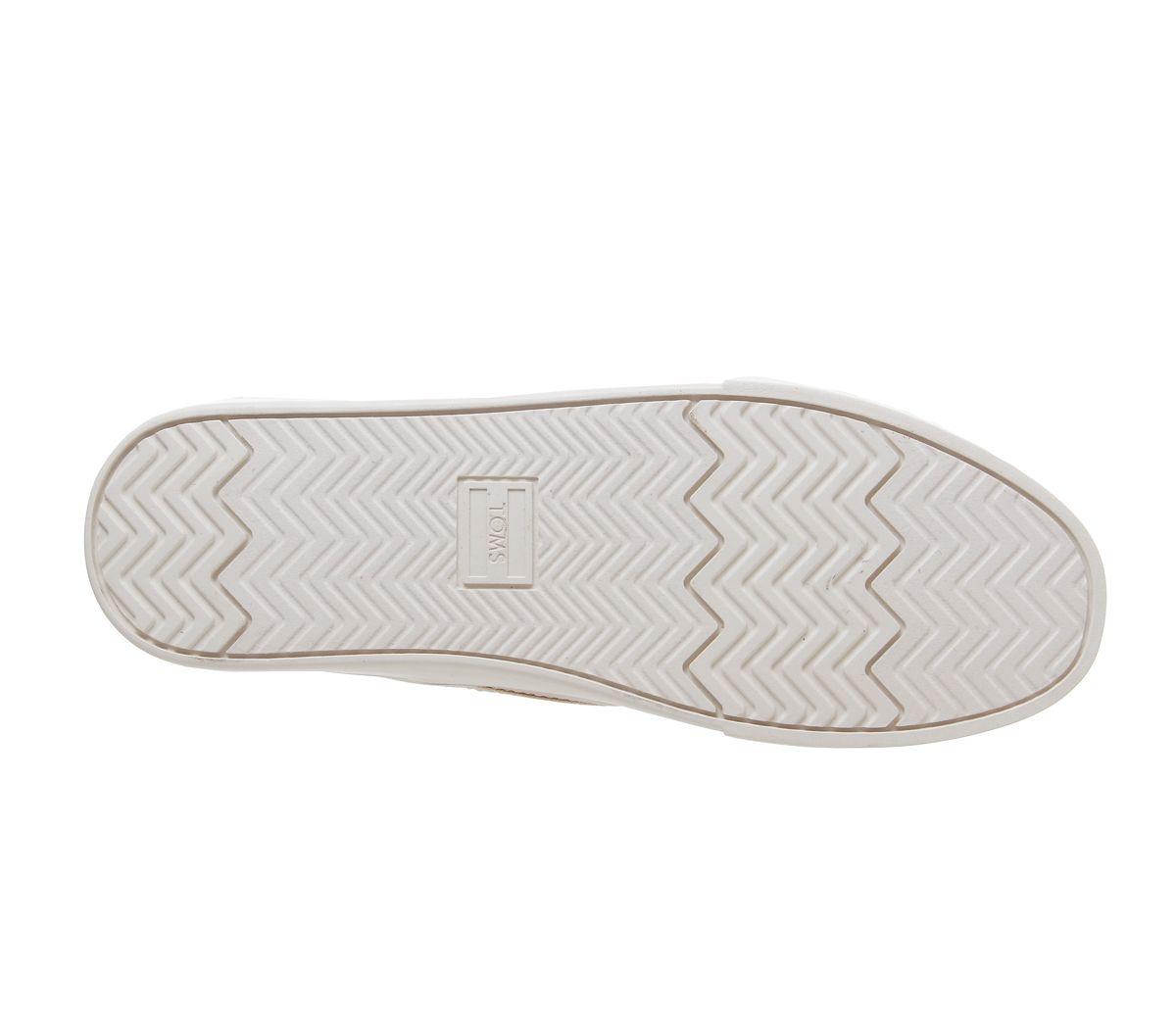 Da-Uomo-Toms-Cordones-Scarpe-da-ginnastica-Naturale-Scarpe-Casual miniatura 6