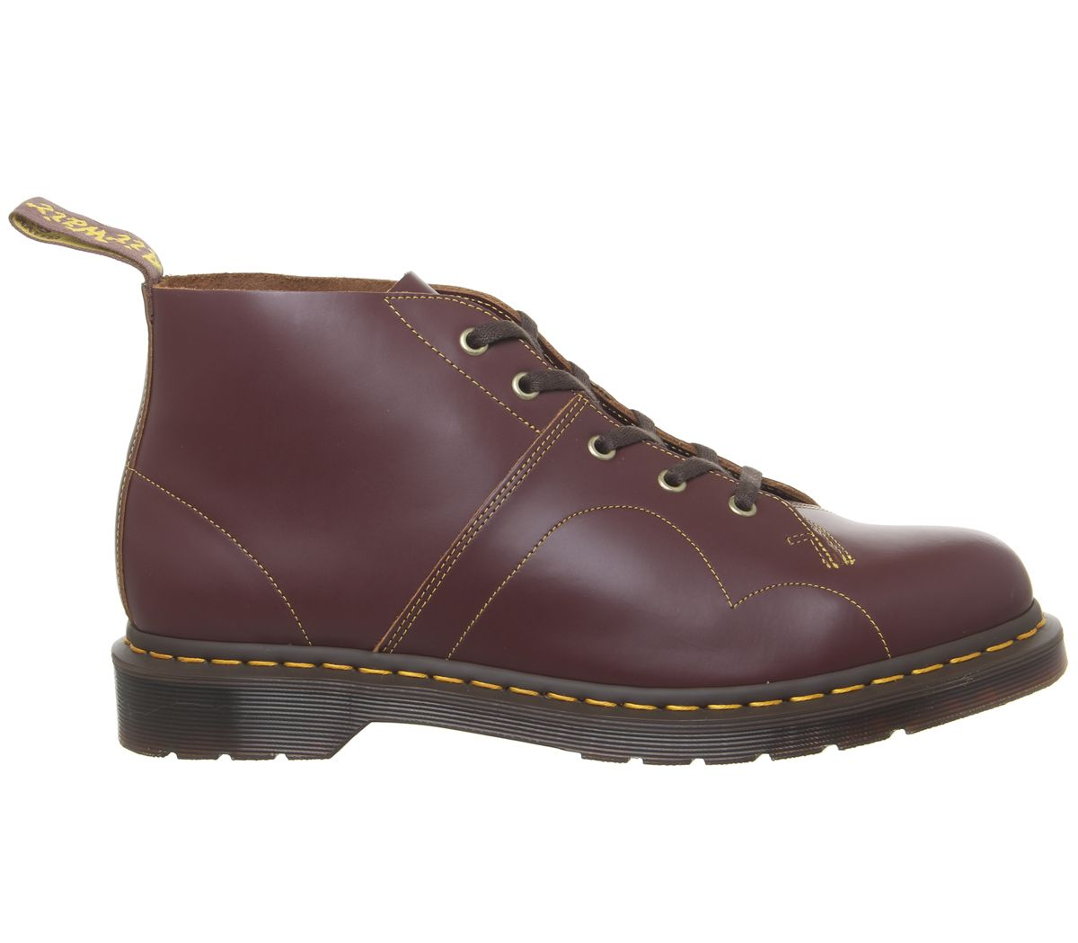 d9ccb15528b Details about Mens Dr. Martens Church Monkey Boots Oxblood Smooth Boots