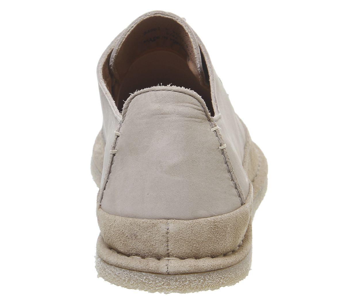 Mens-Office-Lark-Derby-Lace-Up-Shoes-Beige-Nubuck-Casual-Shoes thumbnail 4