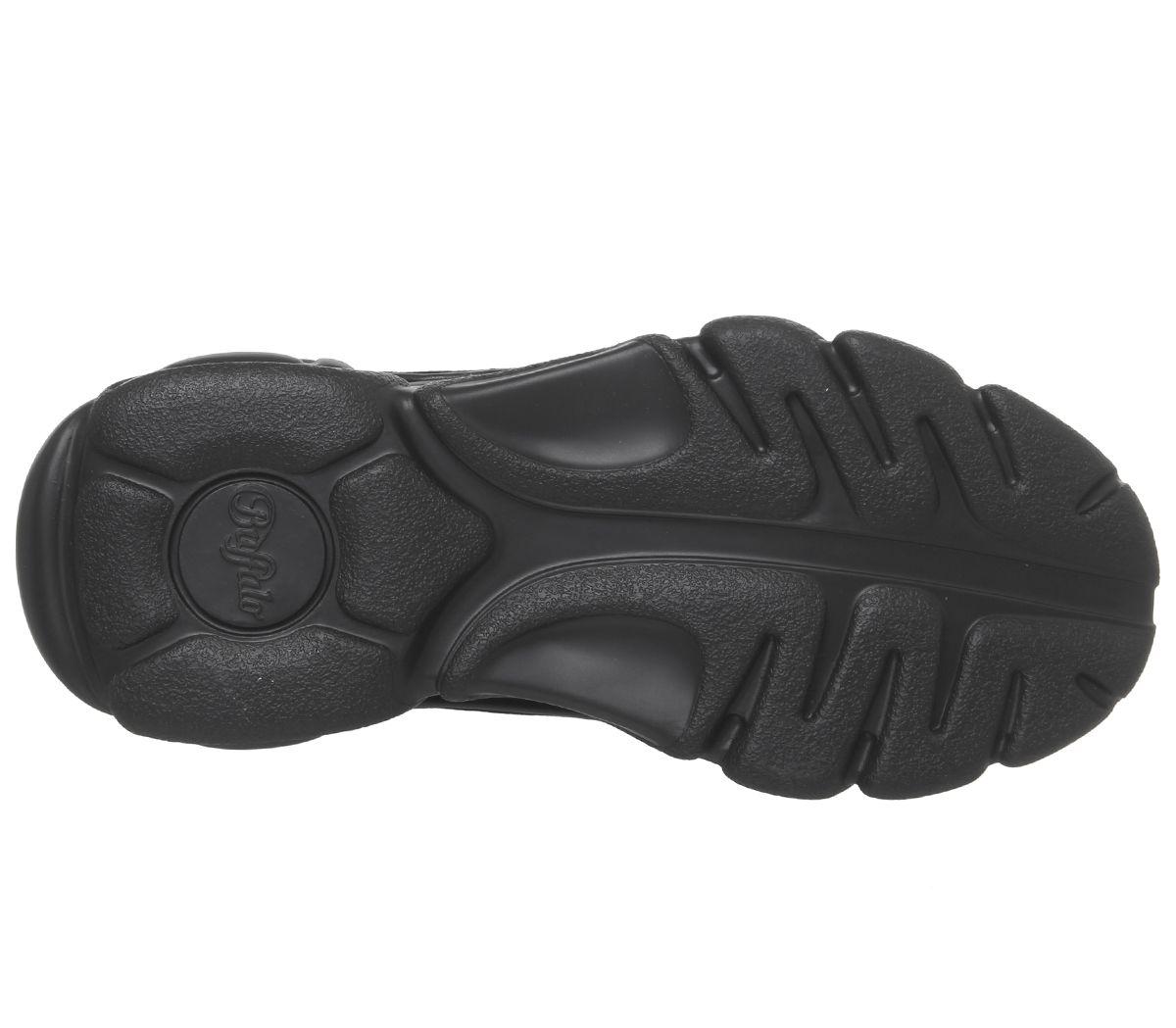 Détails sur Chaussures femme BUFFALO Corin Baskets Noir Baskets Chaussures afficher le titre d'origine