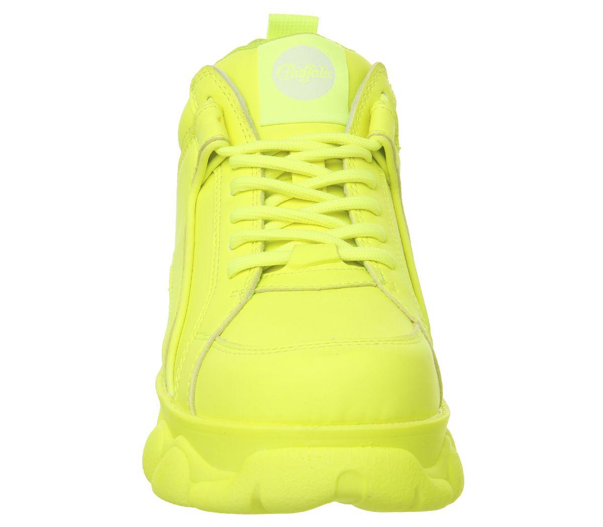 Buffalo Damen Neongelb TurnschuheEbay Corin Sneakers kwuTlZiOXP