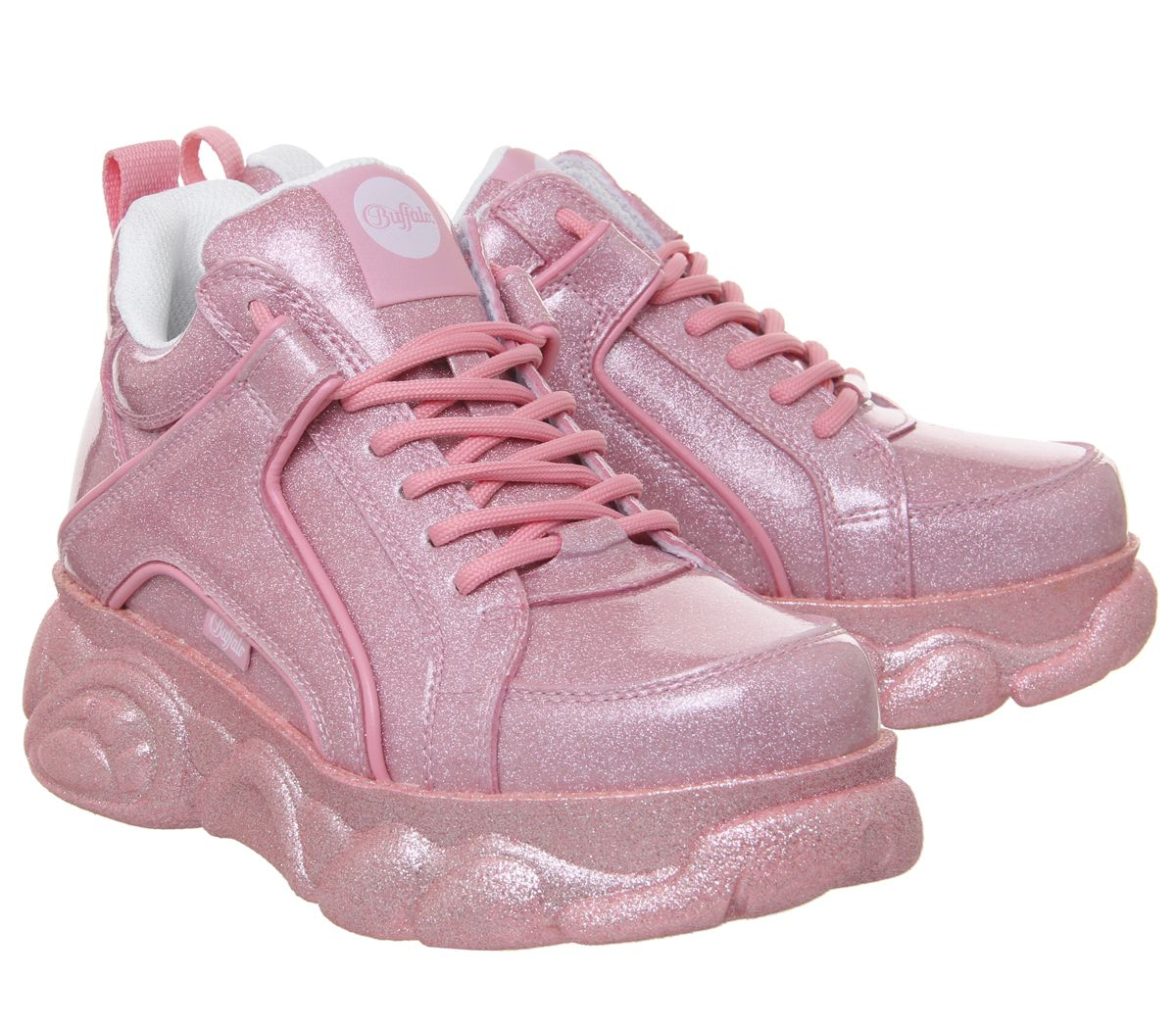Womens Buffalo Corin Sneakers Pink Trainers shoes shoes shoes f228c6
