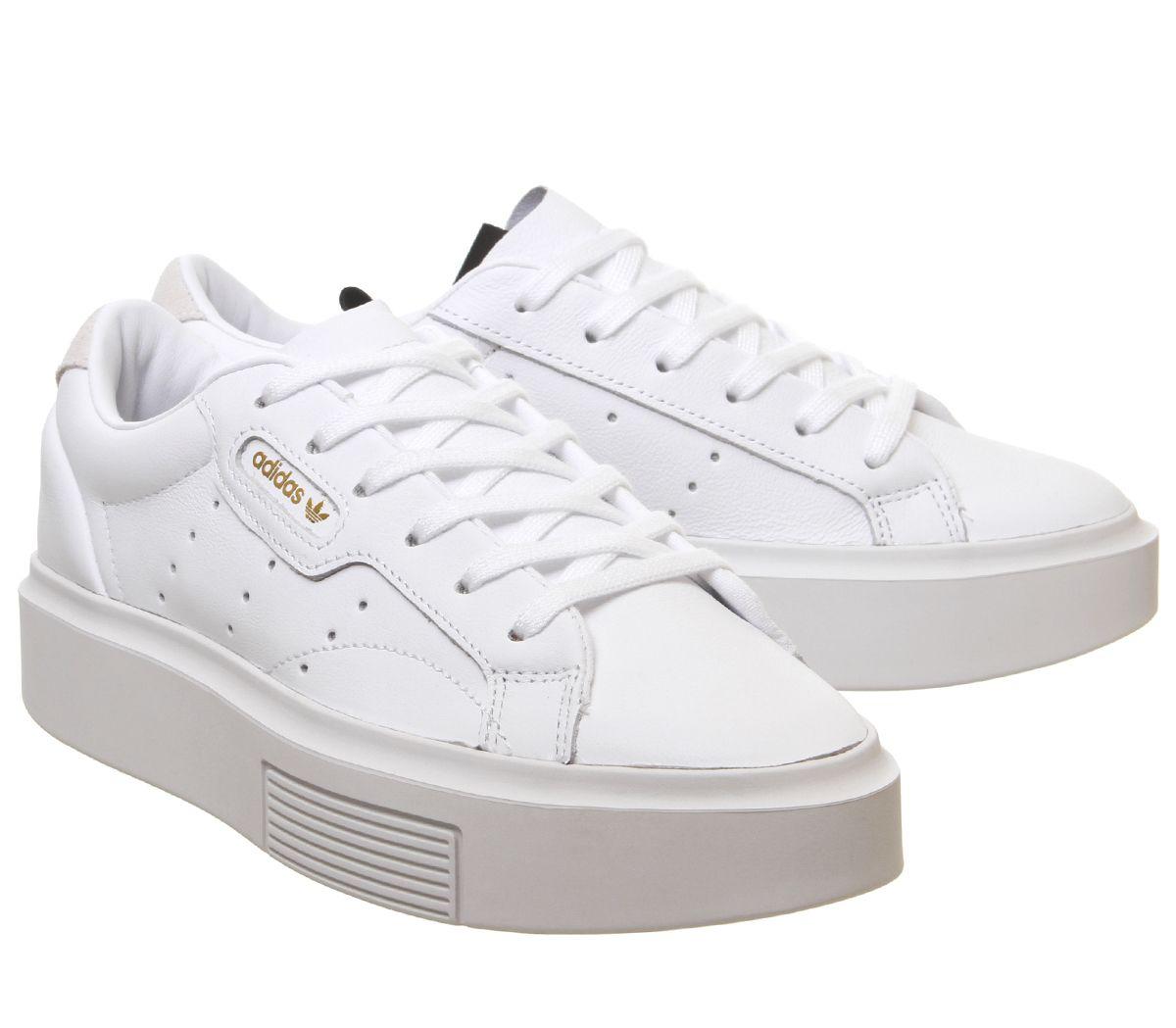 zapatilla blancas mujer adidas