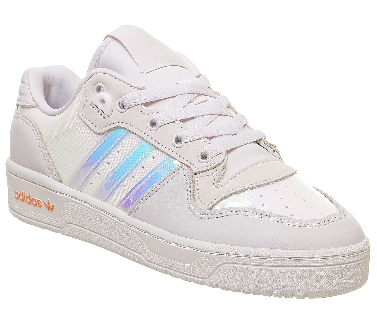 Details zu Womens Adidas Rivalry Low Trainers Orchid Tint Orange Energy Ink Trainers Shoes