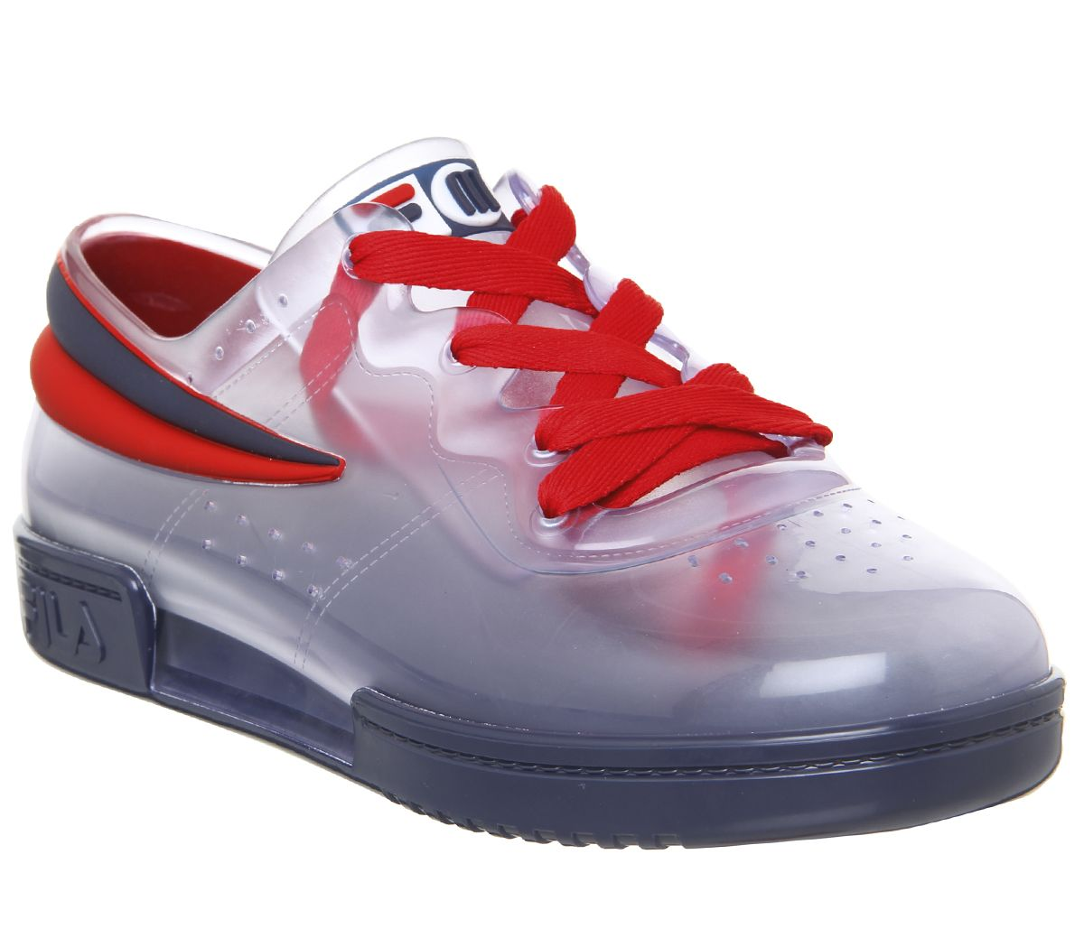 277d4e75f7e176 Sentinel Womens Melissa Melissa X Fila Sneakers Clear Trainers Shoes