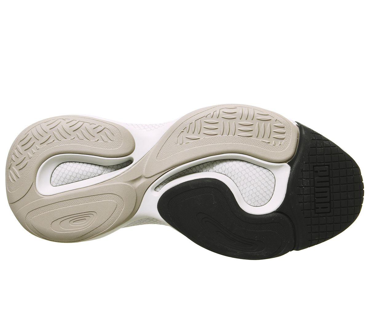Puma-Alteration-Baskets-Puma-Silver-calcaire-Baskets-Chaussures miniature 4