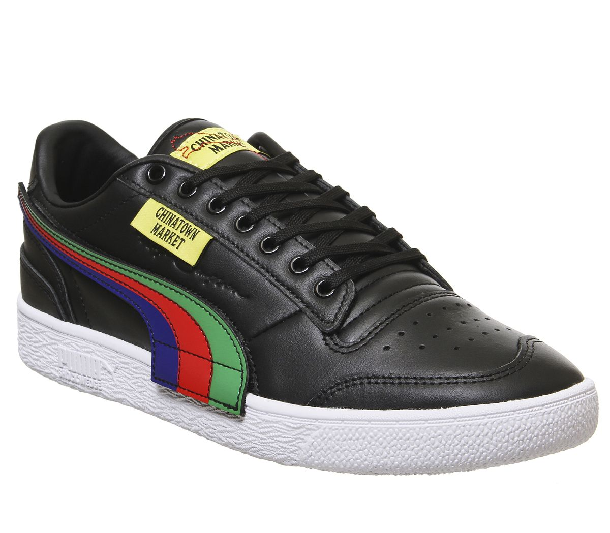 better best shades of Hommes puma Ralph Sampson Lo Chinatown Marché Baskets puma Noir ...