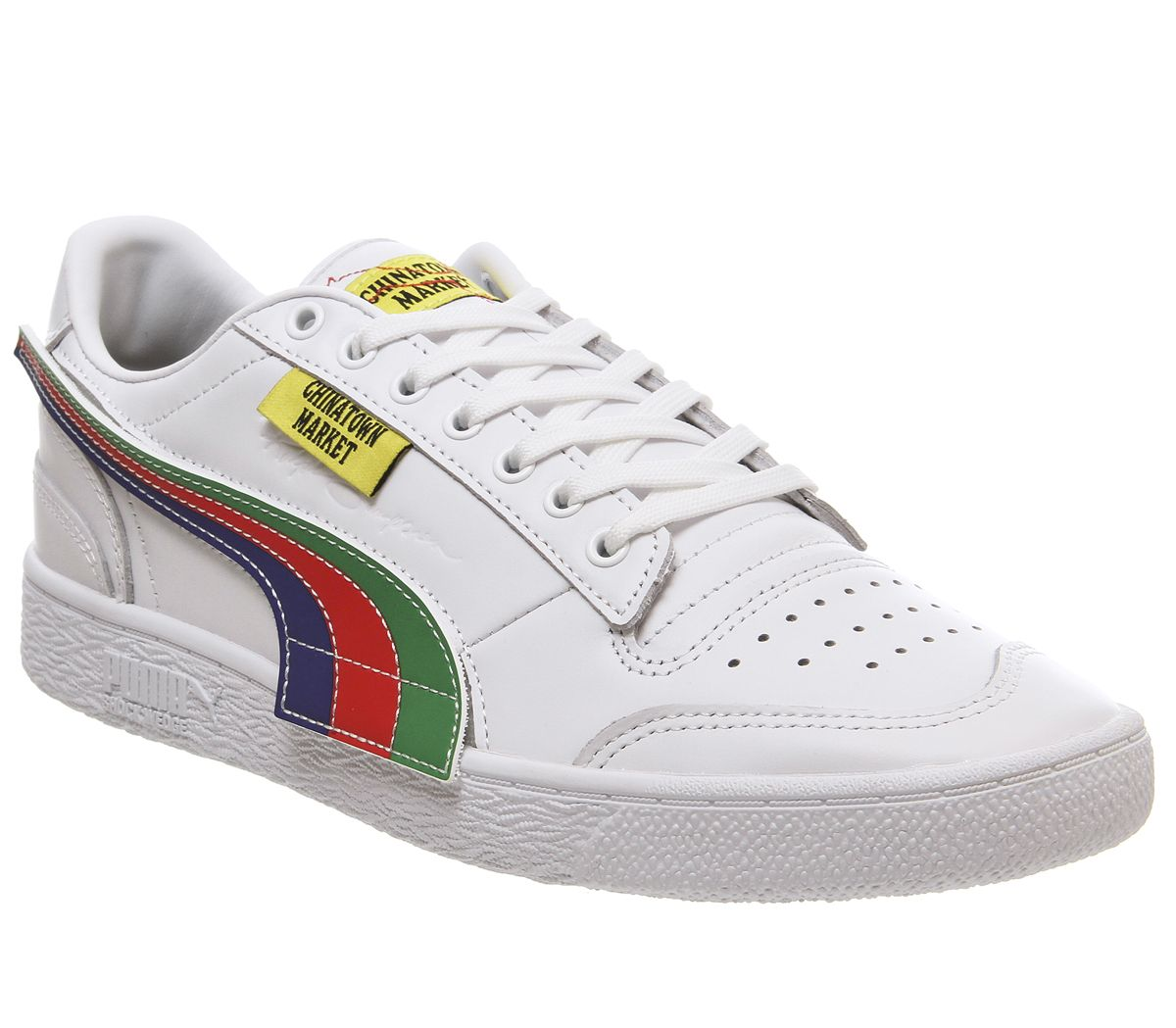 new arrivals outlet top quality Hommes puma Ralph Sampson Lo Chinatown Marché puma Blanc Baskets ...
