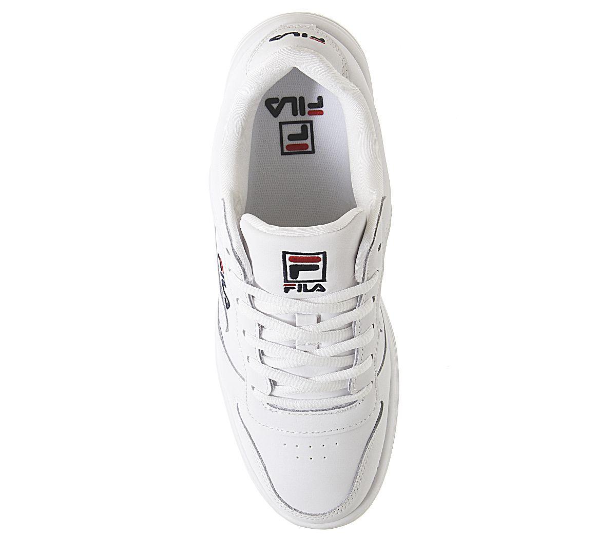 Debardeur-FILA-Wx-100-Trainers-White-FILA-Marine-Fila-Rouge-Baskets miniature 4
