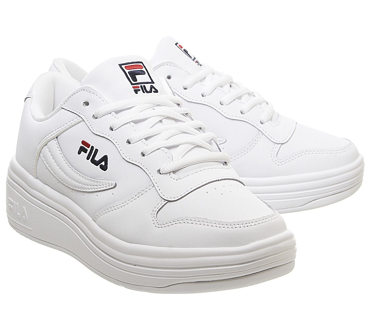 Debardeur-FILA-Wx-100-Trainers-White-FILA-Marine-Fila-Rouge-Baskets miniature 6