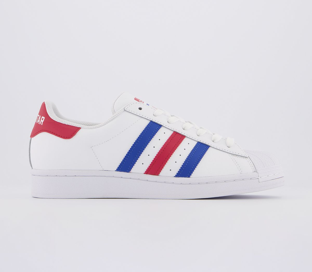 Mens Adidas Superstar Trainers White