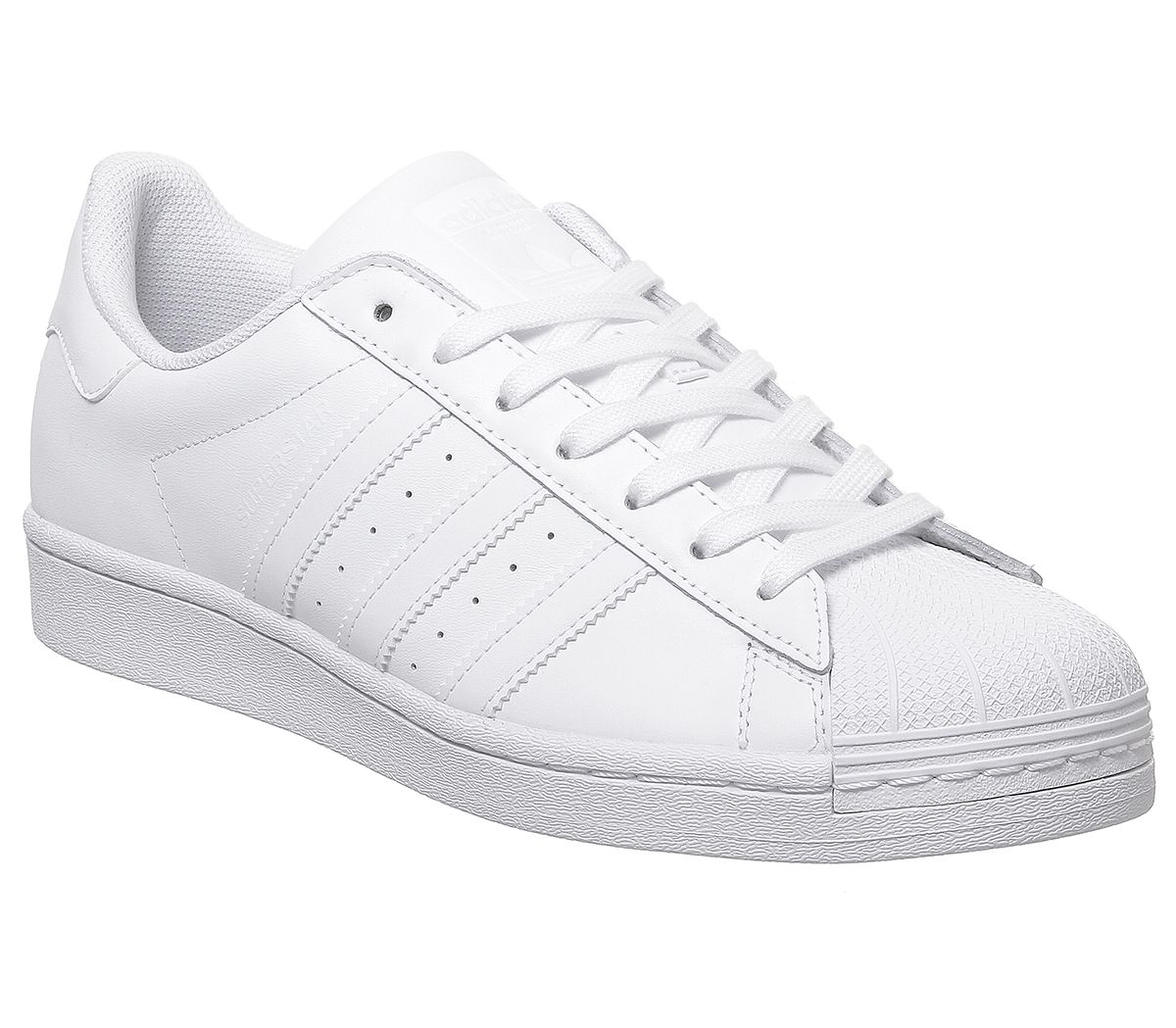 adidas blancas superstar