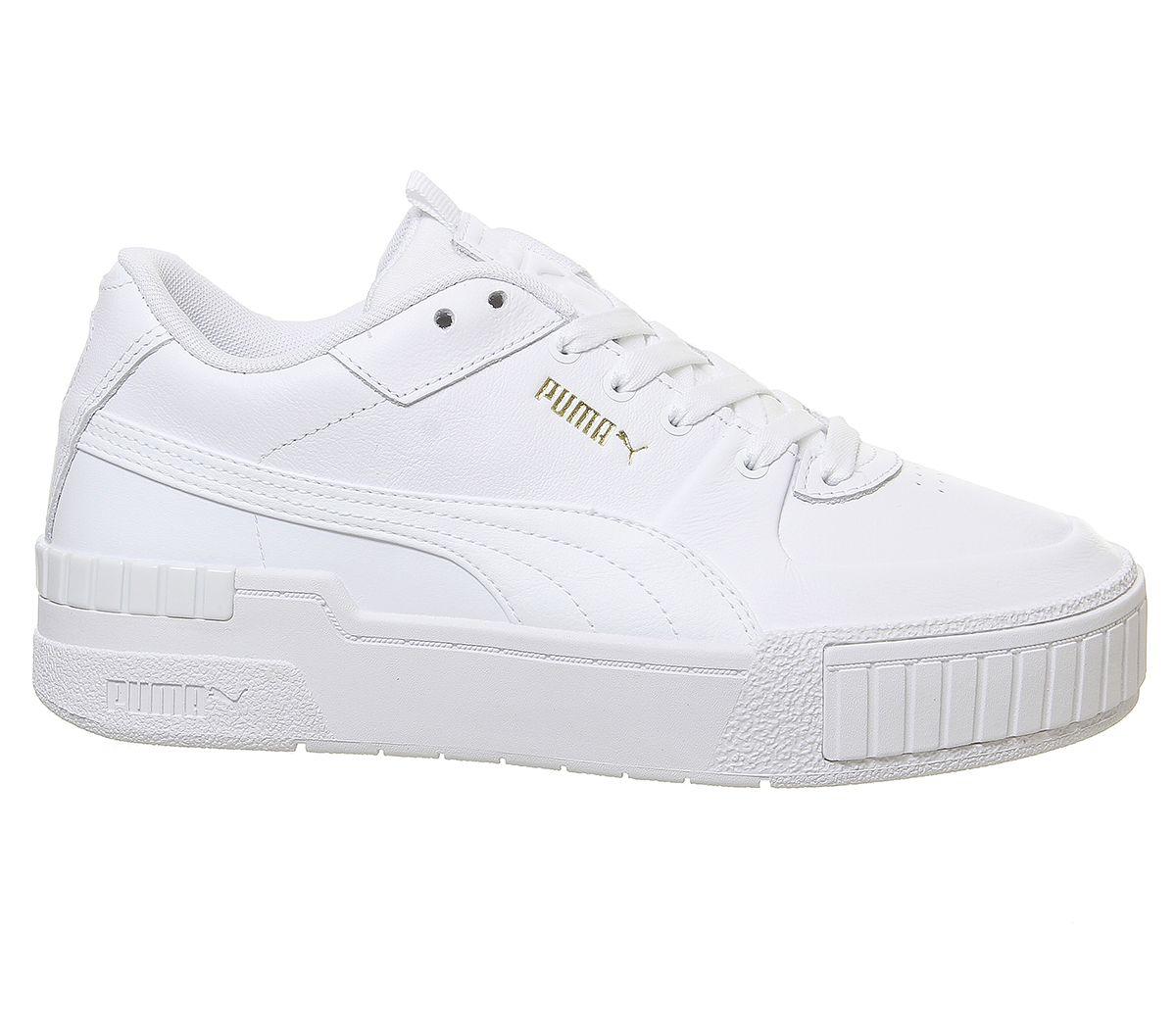 Chaussures-Femme-Puma-Cali-Sport-Baskets-Blanc-Baskets-Chaussures miniature 12
