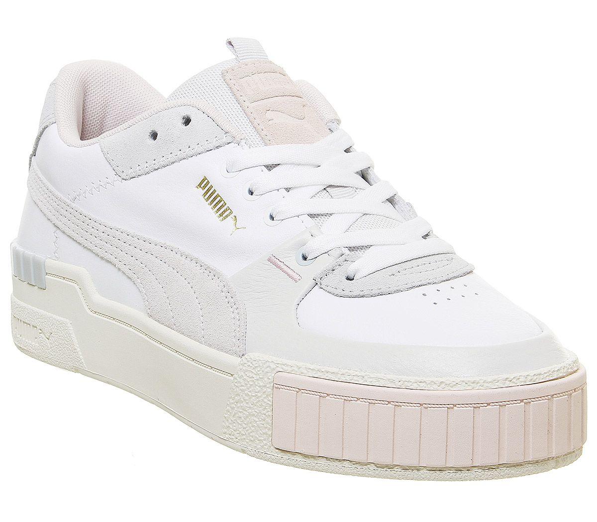 pumas mujer zapatillas blancas