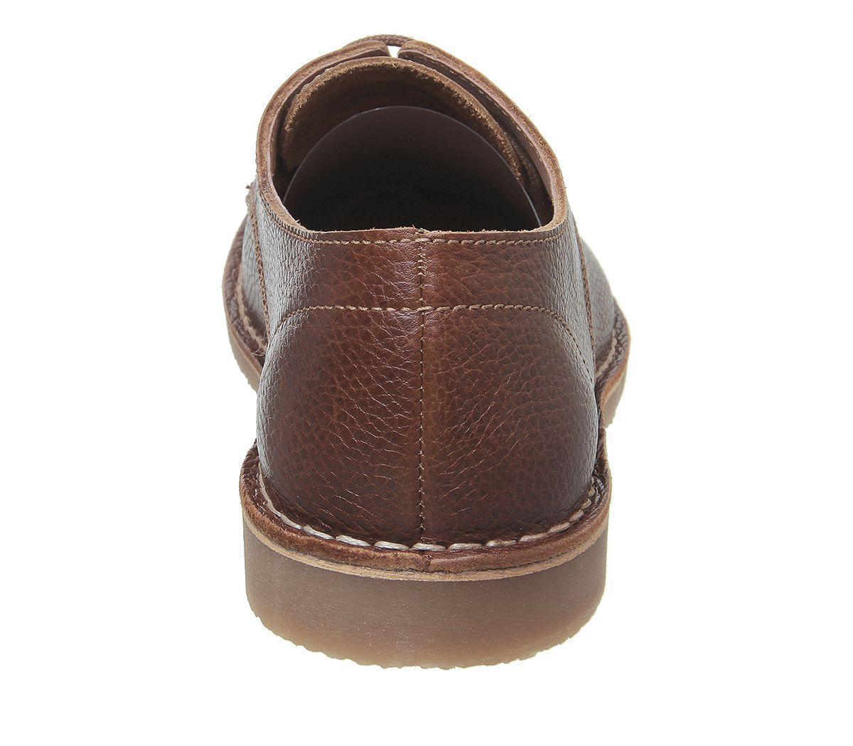 Da-Uomo-Ufficio-Celsius-Scarpe-DESERT-Tan-in-Pelle-Casual-Scarpe miniatura 4