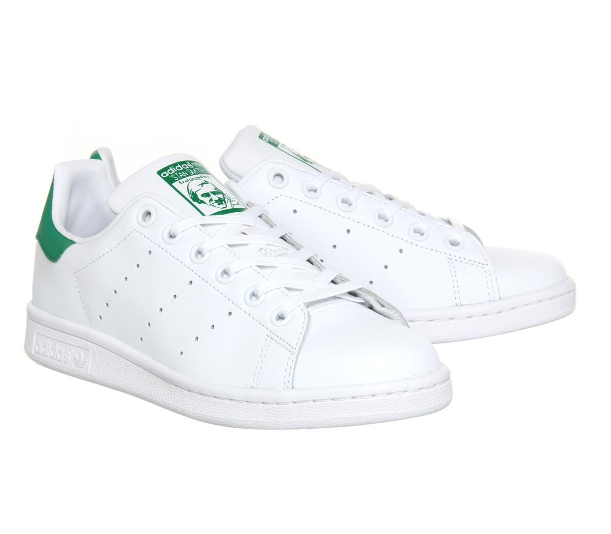 adidas stan smith bianche e verdi