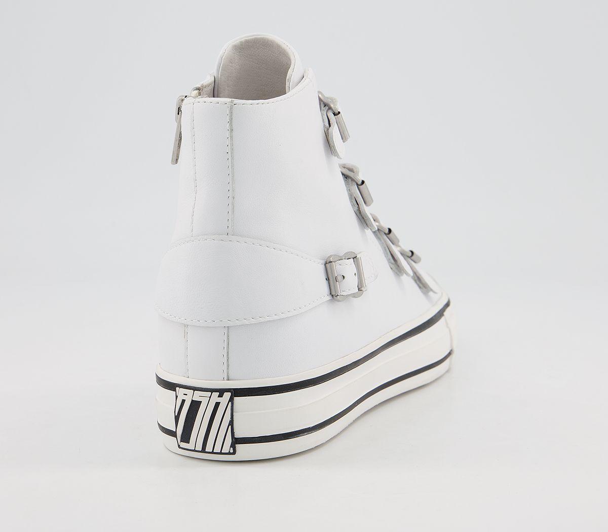 Womens-Ash-Genesis-Sneaker-White-Flats thumbnail 3