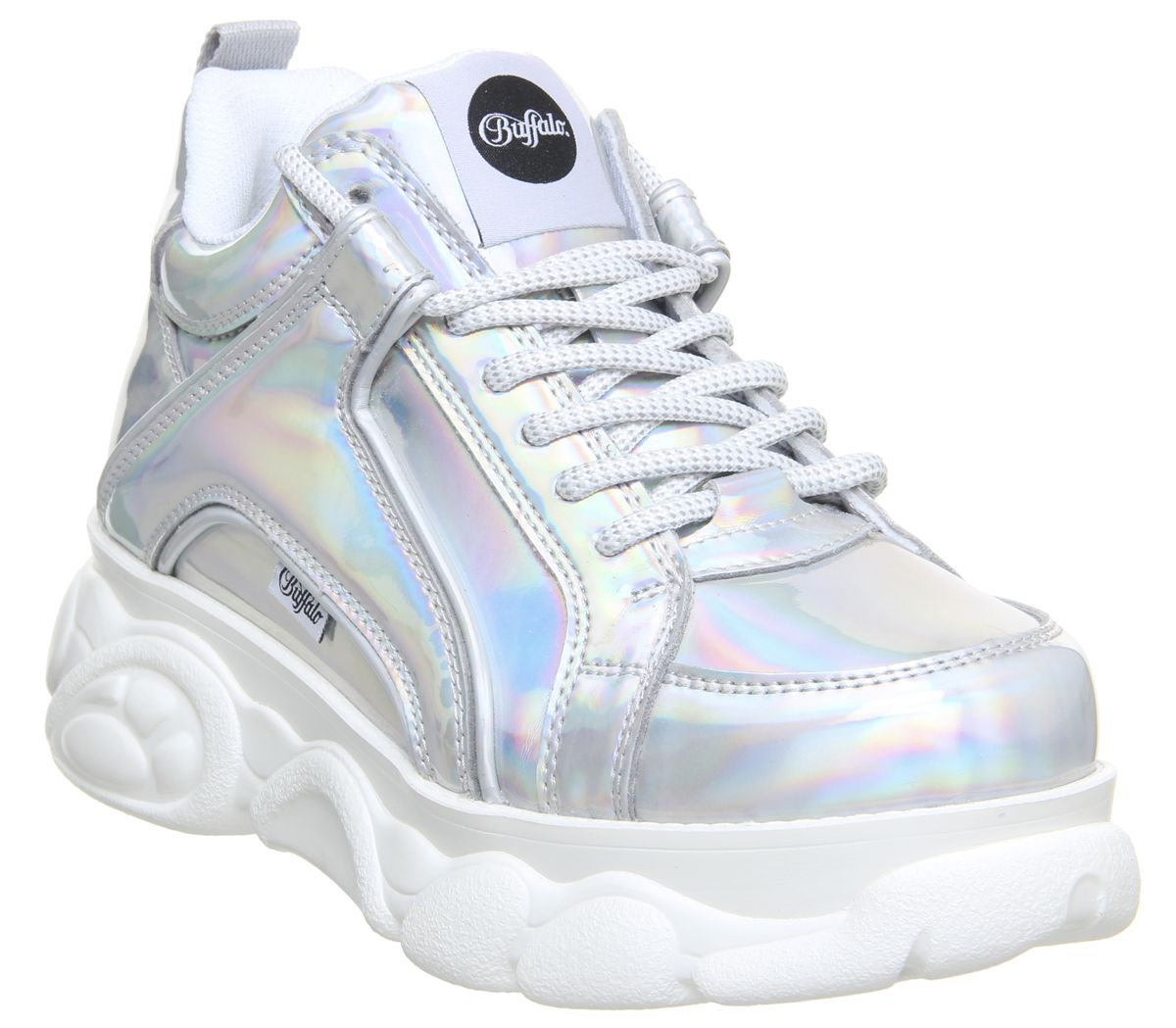 Chaussures femme BUFFALO Corin Basse Baskets Bleu Marine Flats