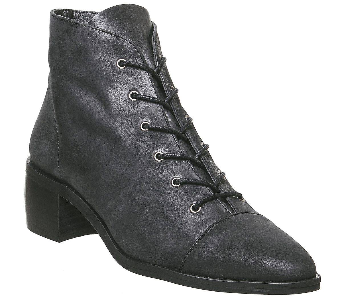 Womens Office Accord Lace Up Boots