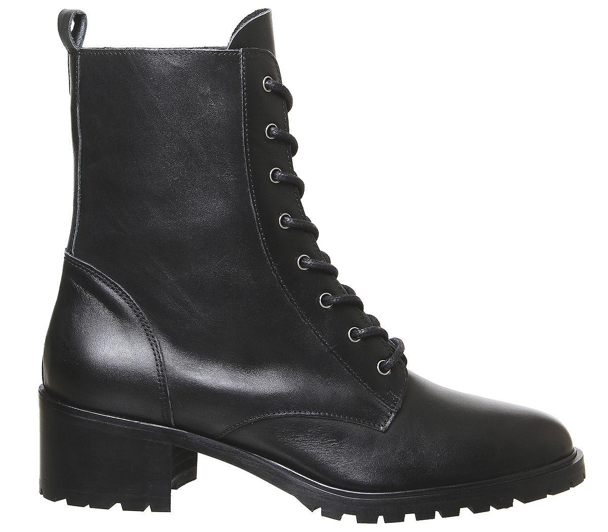 Womens Office Azalea Lace Up Boots