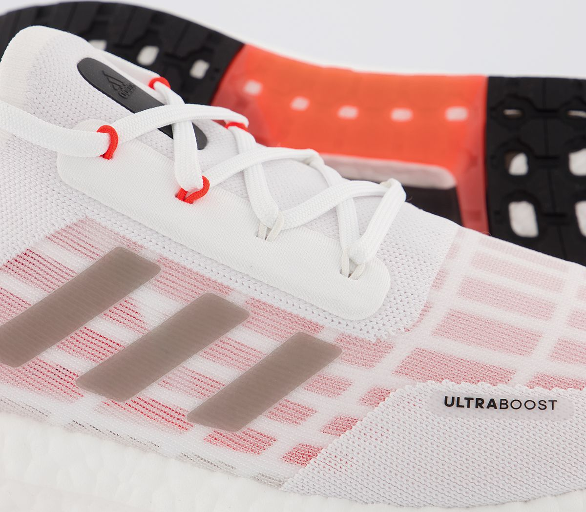 Adidas-ultraboost-S-RDY-Baskets-Rouge-Blanc-Baskets-Chaussures miniature 3