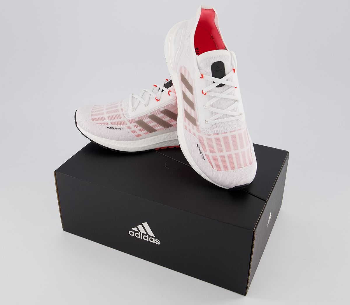 Adidas-ultraboost-S-RDY-Baskets-Rouge-Blanc-Baskets-Chaussures miniature 4