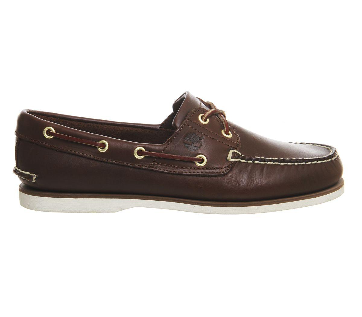 detalles de hombre timberland nuevo zapatos náuticos cuero