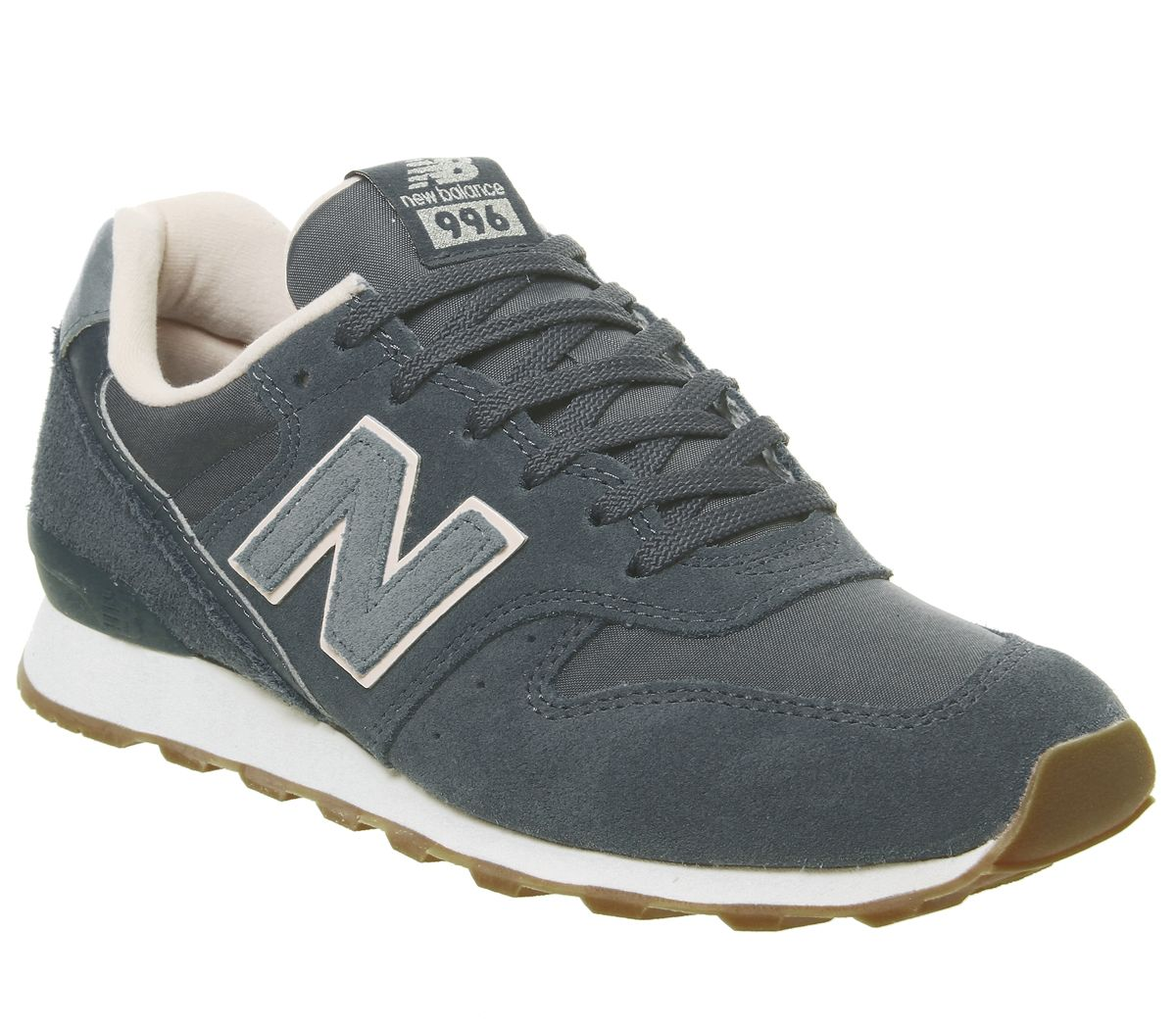 f060b579c Details about Womens New Balance 996 Trainers Orion Blue Pale Blush  Exclusive Trainers Shoes