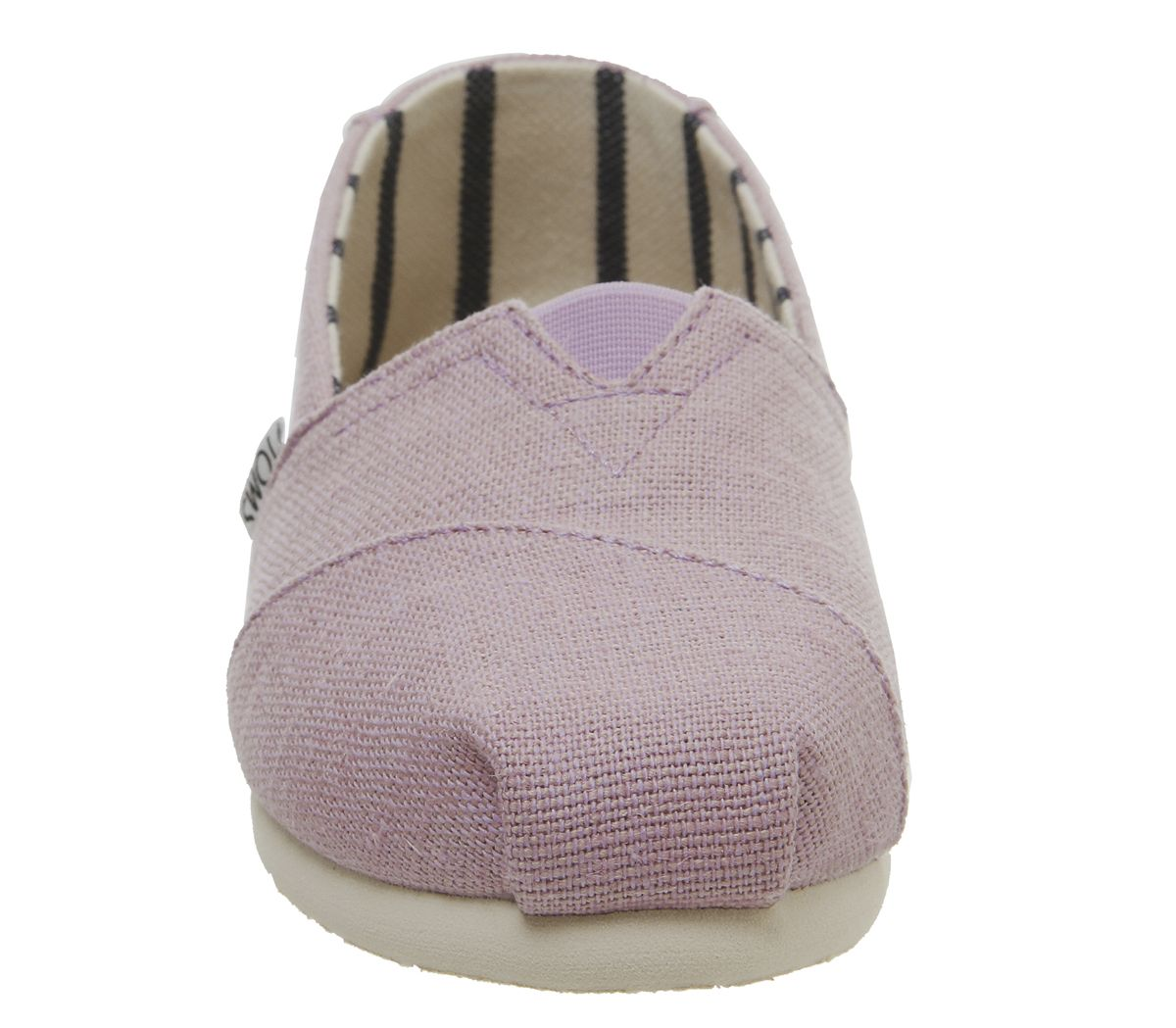 Womens-Toms-Seasonal-Classic-Slip-On-Flats-Soft-Lilac-Flats thumbnail 9