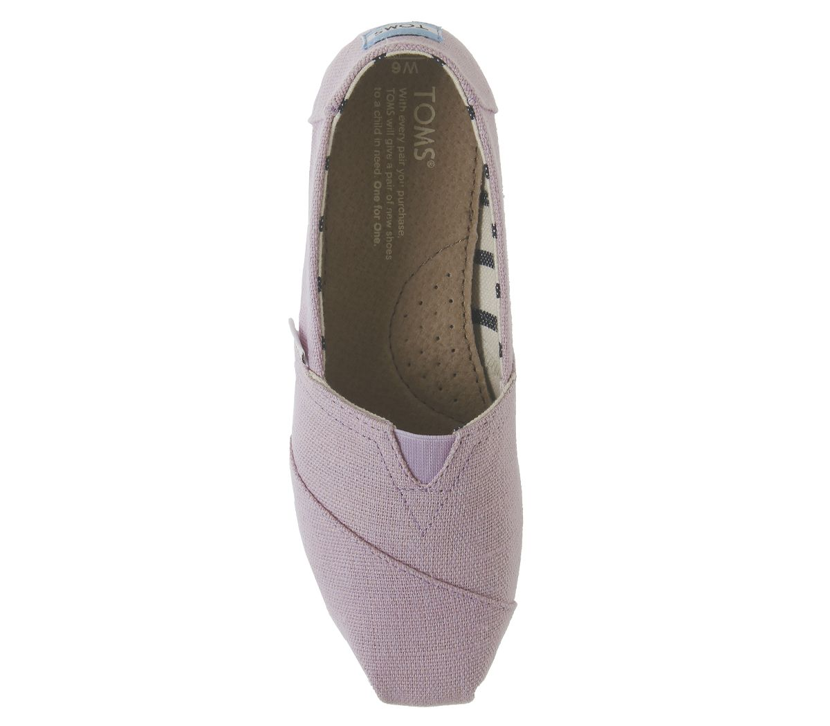 Womens-Toms-Seasonal-Classic-Slip-On-Flats-Soft-Lilac-Flats thumbnail 13