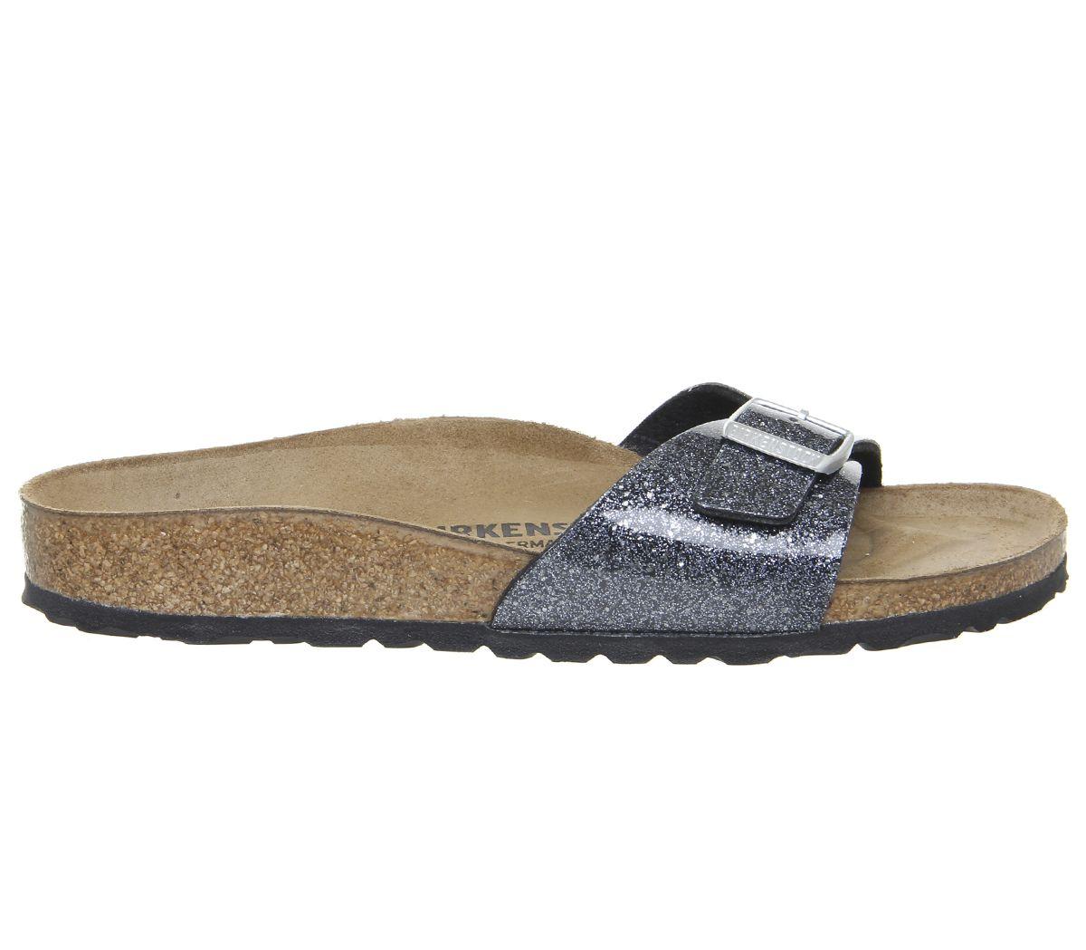 Birkenstock Madrid BF W sandal cosmic sparkle anthracite