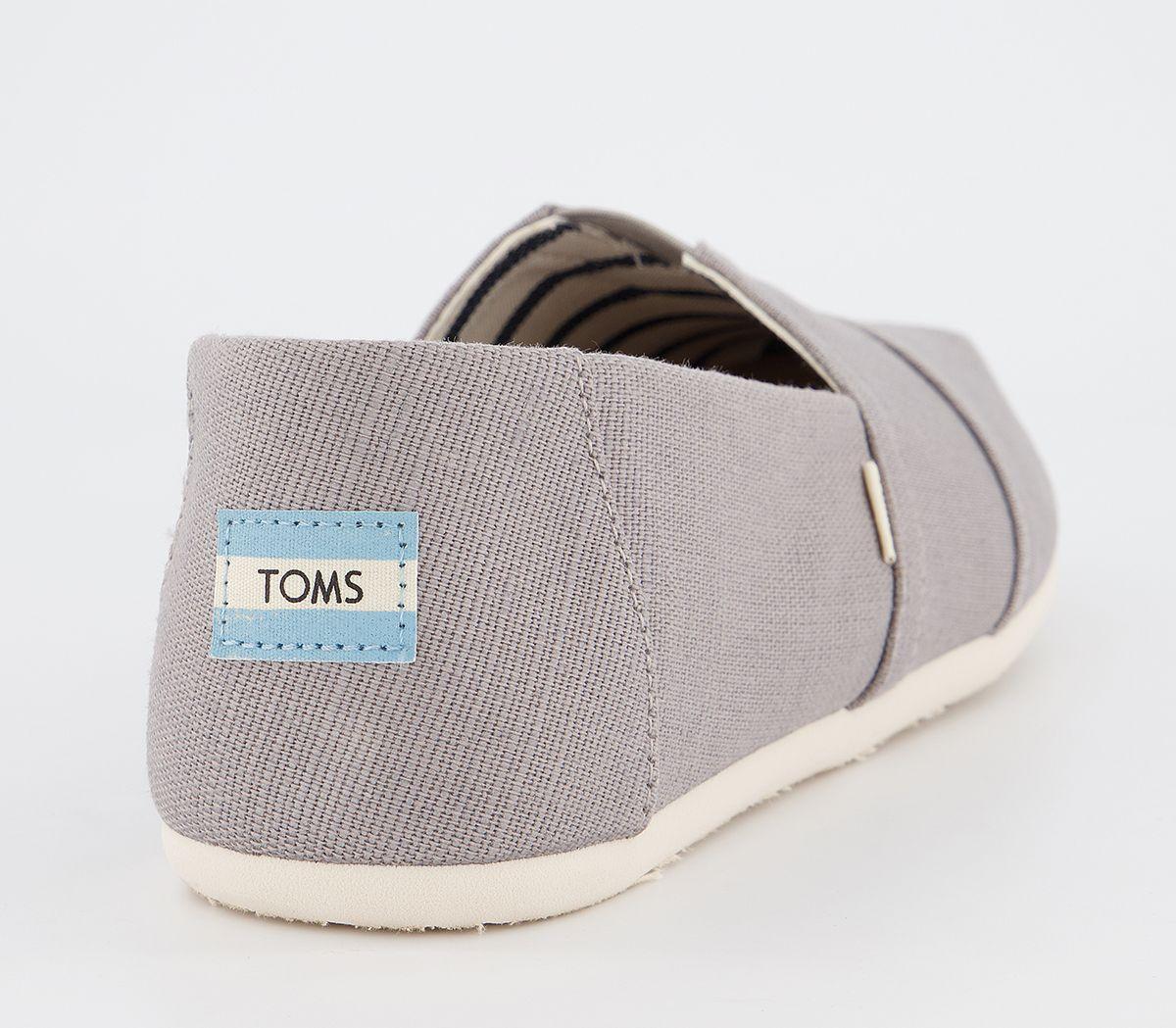 Da-Uomo-Toms-Toms-Classic-SLIP-ONS-TORTORA-Heritage-Scarpe-Casual miniatura 4