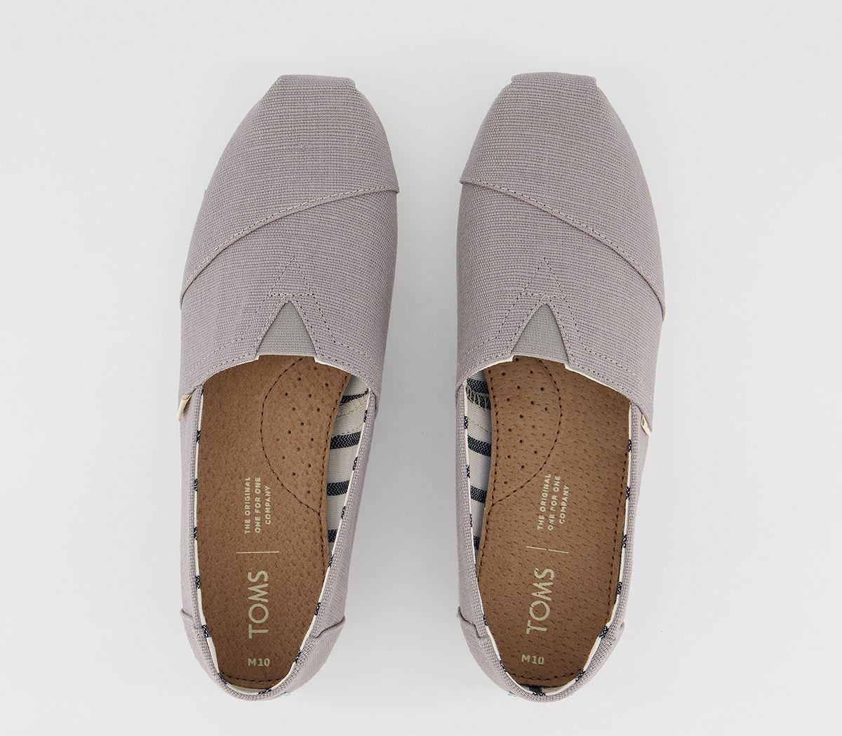 Da-Uomo-Toms-Toms-Classic-SLIP-ONS-TORTORA-Heritage-Scarpe-Casual miniatura 5