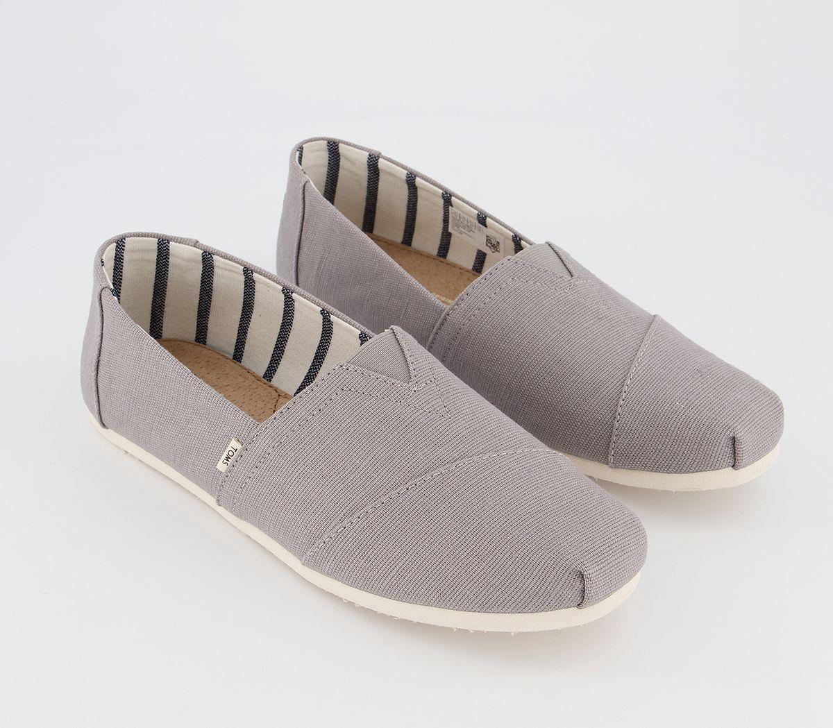 Da-Uomo-Toms-Toms-Classic-SLIP-ONS-TORTORA-Heritage-Scarpe-Casual miniatura 7
