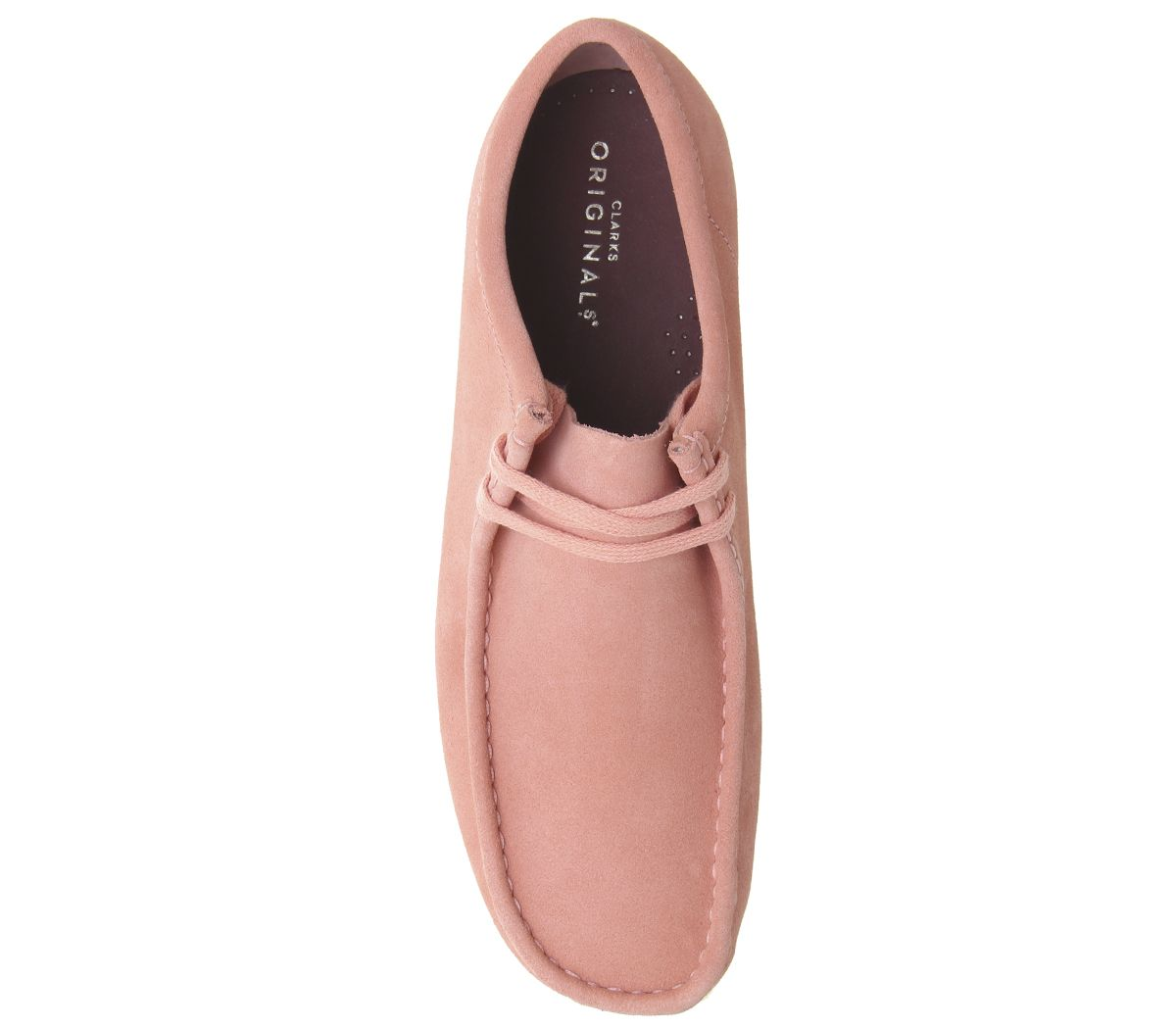 ecb48c30 Details about Mens Clarks Originals Wallabee Shoes Coral Suede Casual Shoes