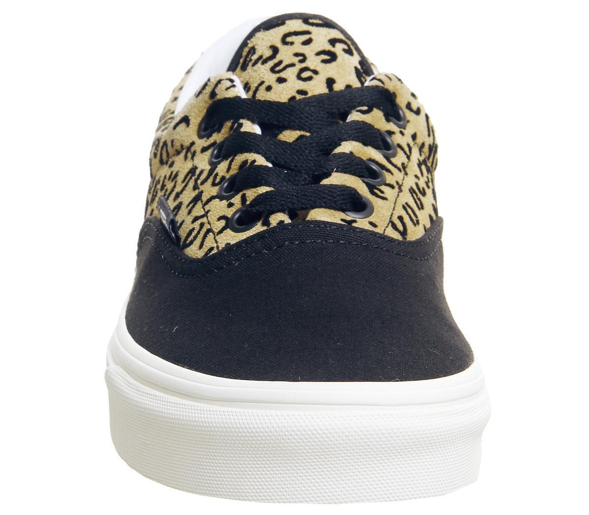 52cd4ec5811 CENTINELA Hombres Vans Era zapatillas leopardo negro CHICLOSO MARSHMELLOW  entrenadores exclusivos zapatos. CENTINELA Thumbnail 4