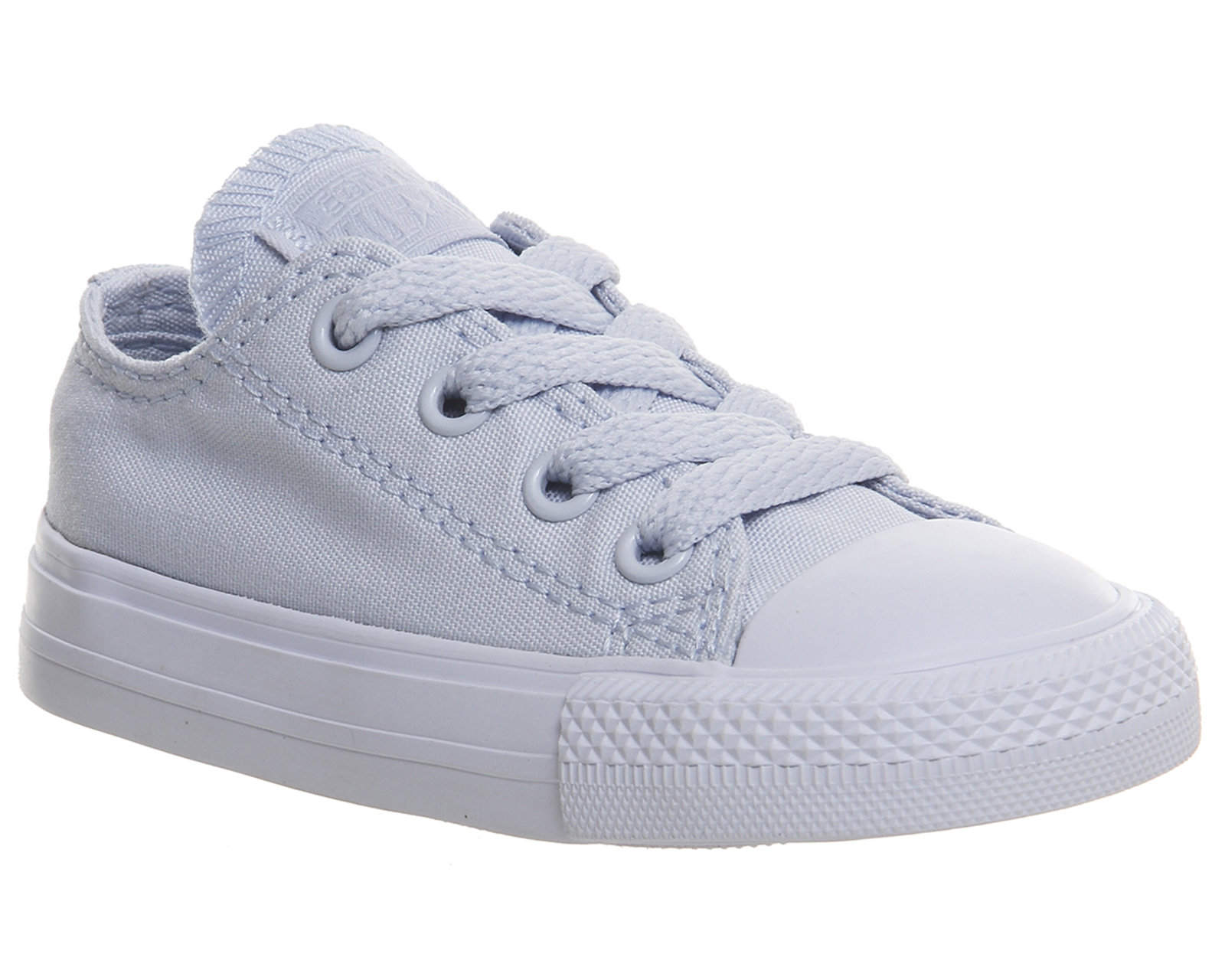 aa5b3eb9014c Sentinel Kids Converse All star Low Infant Trainers PORPOISE BLUE MONO Kids