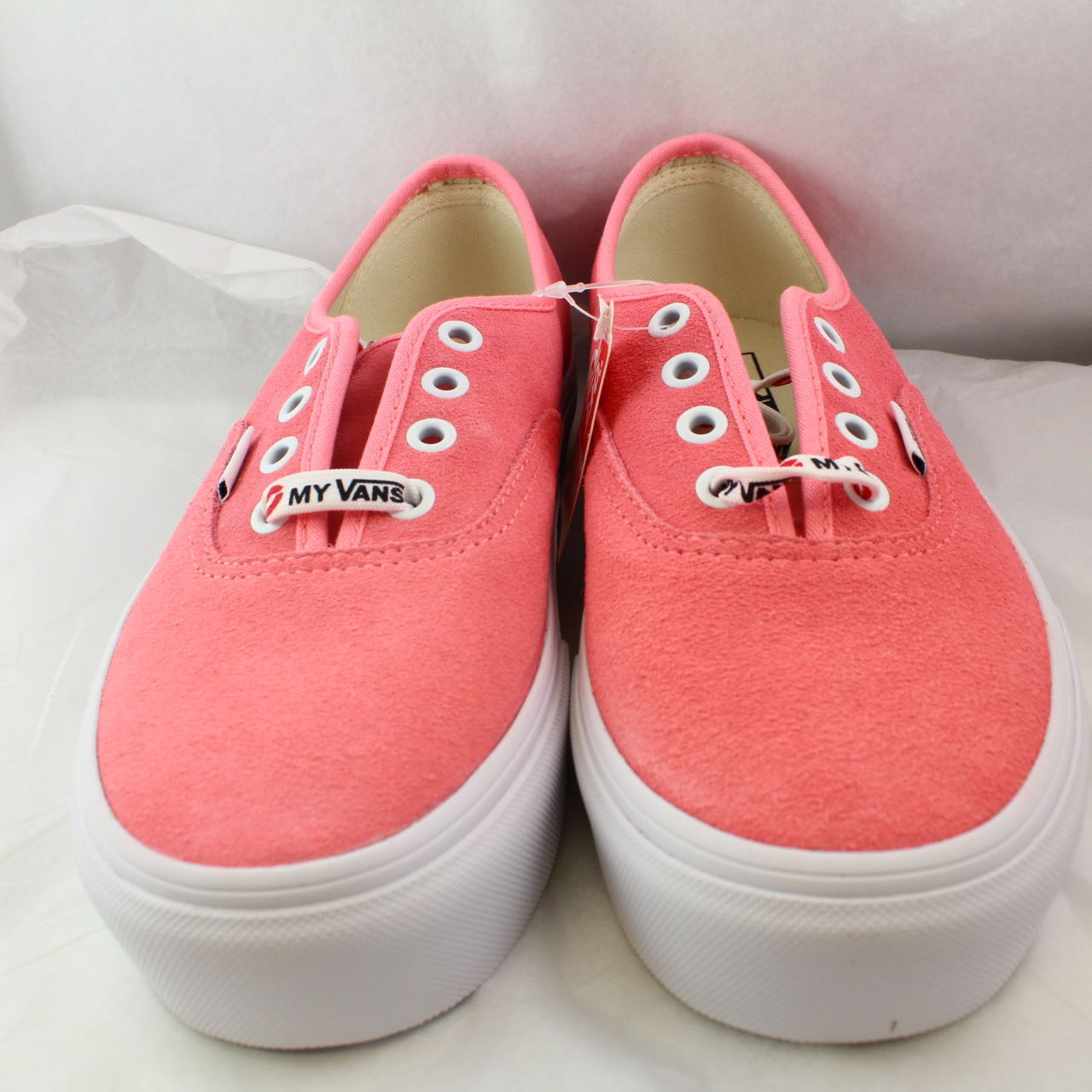 2258c6771bca Sentinel Womens Vans Pink Suede Lace-up Trainers Size UK 5  Ex-Display