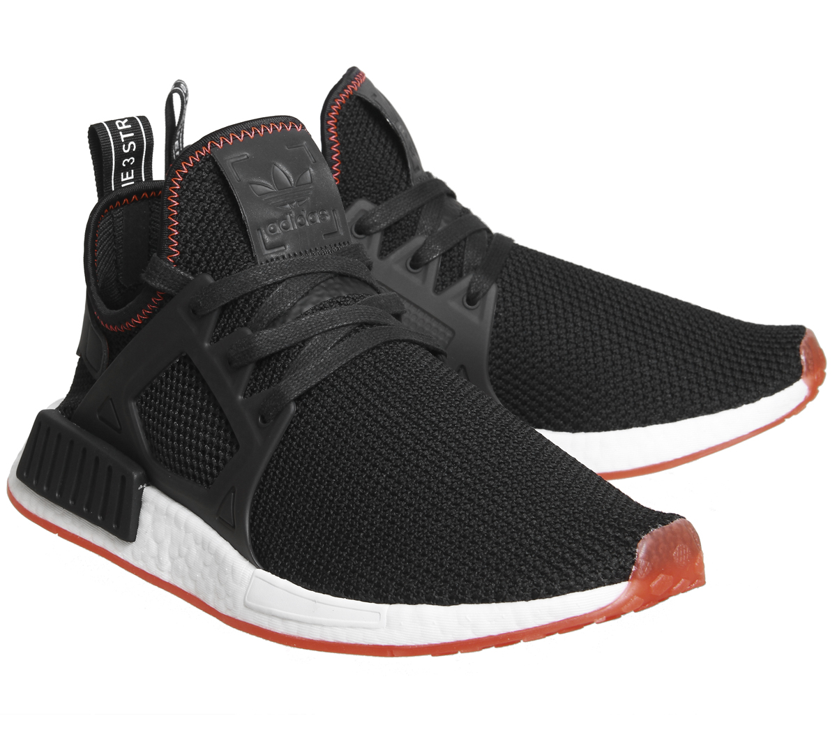 3b4c876fb7d93 Sentinel Adidas Nmd Xr1 BLACK BLACK SOLAR RED Trainers Shoes