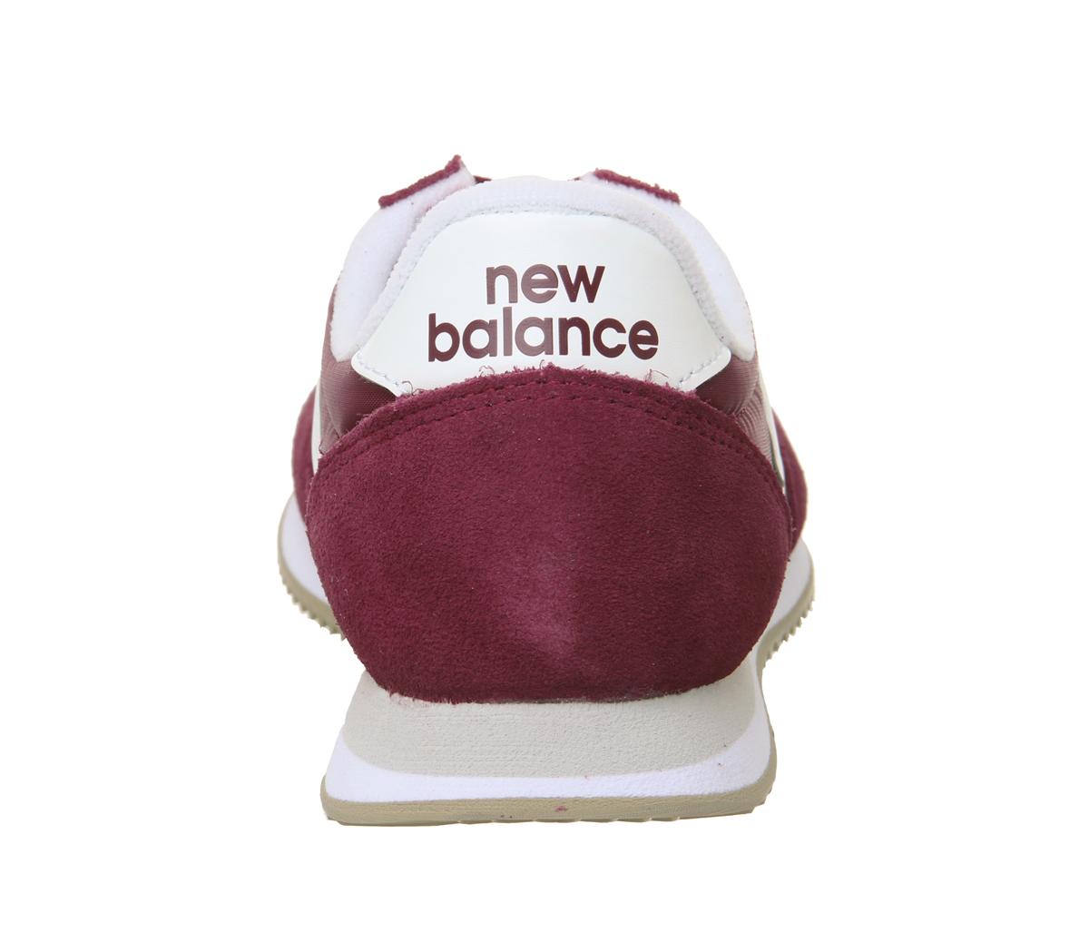 new balance burgundy sneakers,new balance femme blanche