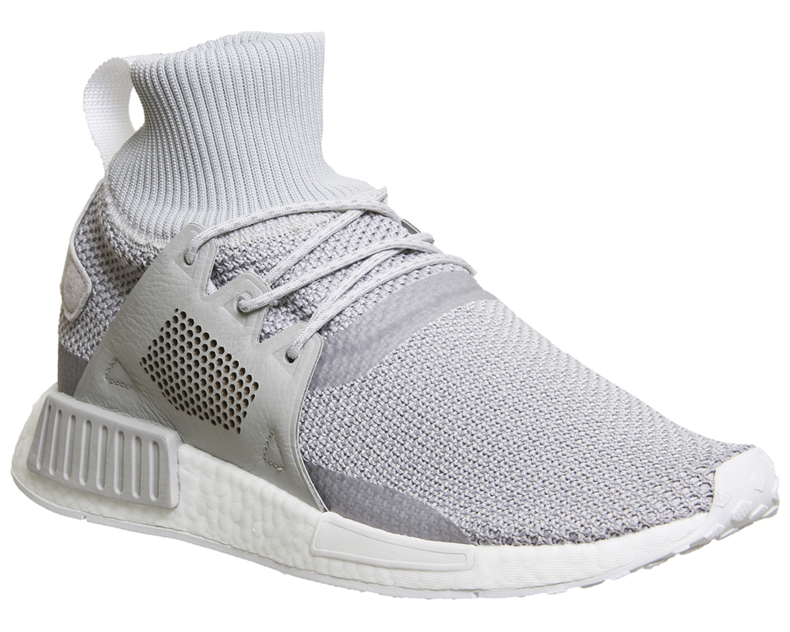 b0ca573d1 Sentinel Adidas Nmd Zr1 Winter Grey Two White Trainers Shoes