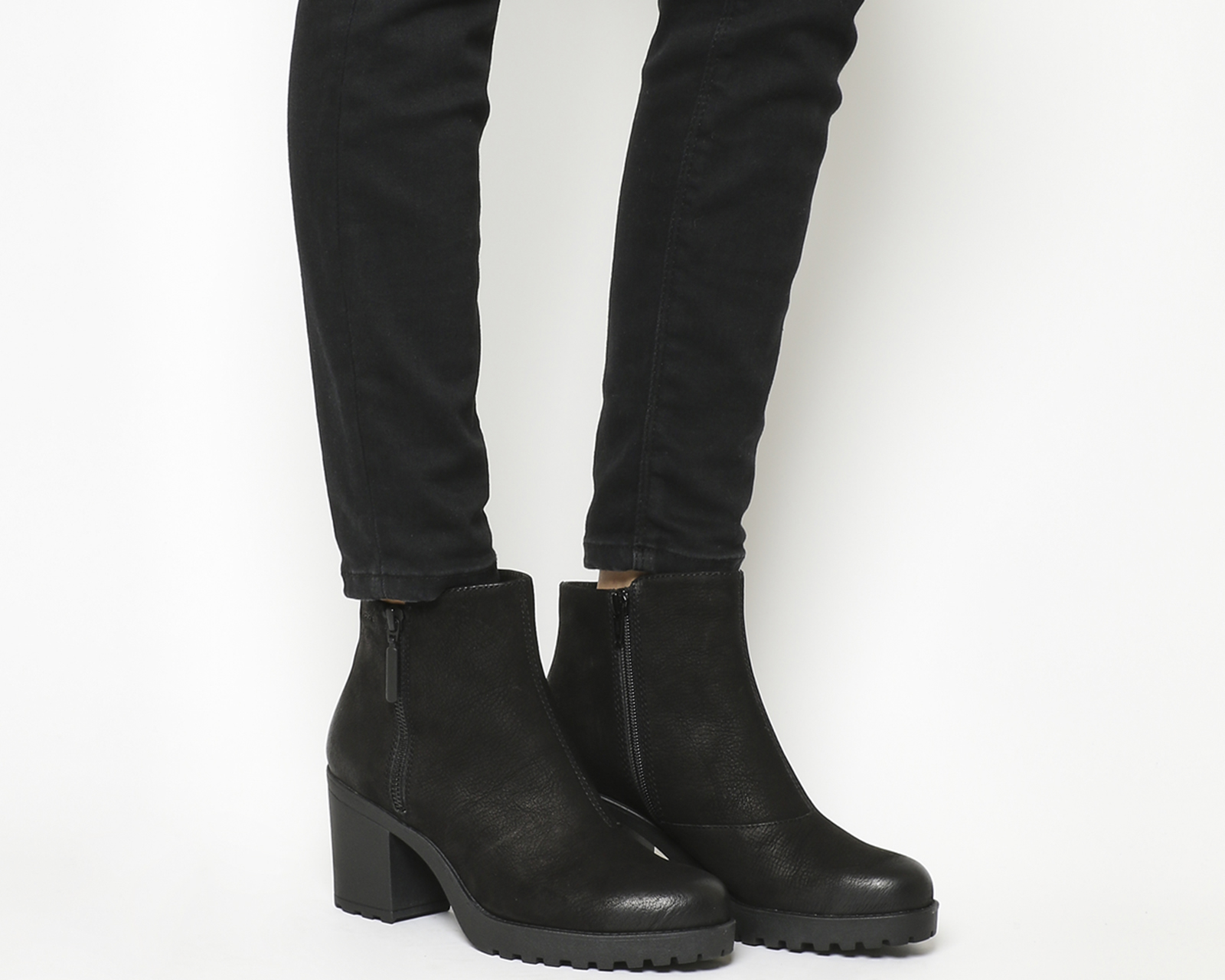 d9107c84192a Sentinel Thumbnail 1. Sentinel Womens Vagabond Grace Zip Boots Black ...