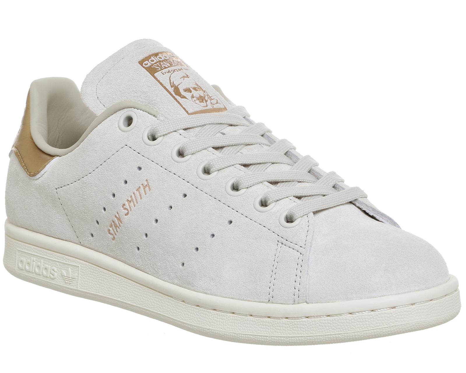 Donna Adidas Originals Stan Smith Scarpe da ginnastica in bianco sporco da Get The Label