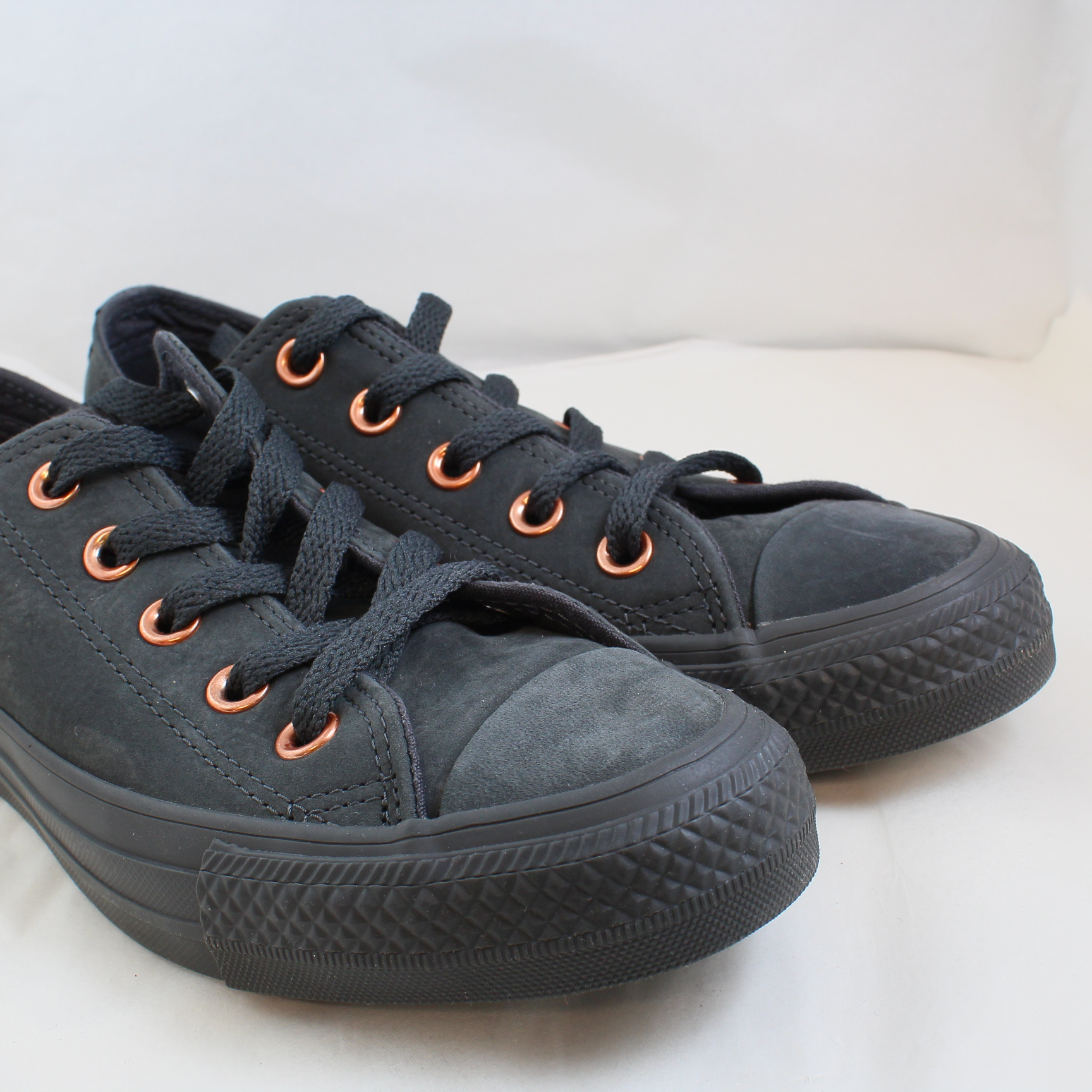 739f30d5699f1a Sentinel Thumbnail 3. Sentinel Womens Converse Black Suede Lace Up Trainers  Size UK 3  Ex-Display. Sentinel Thumbnail 4